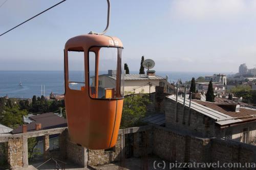 Yalta cable car