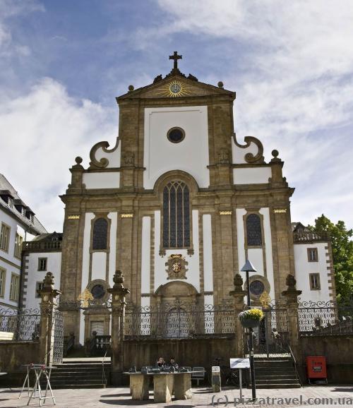 St. Francis Xavier Church, former Jesuit church