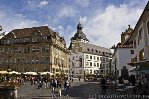 City Hall Square and the Theodorianum Gymnasium