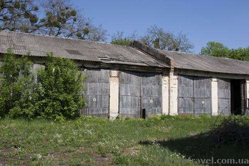 Former military unit garages