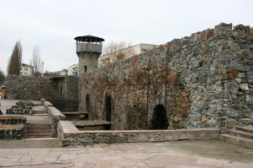 Залишки фортеці у Новоград-Волинському