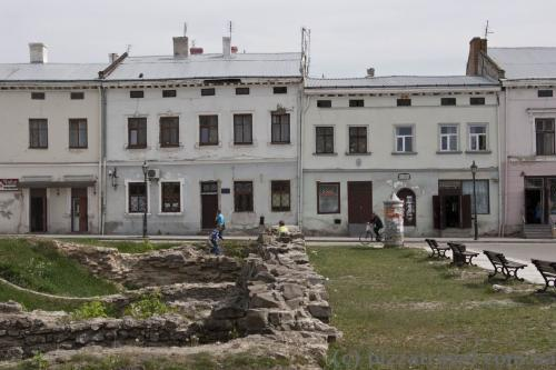 Houses on the Veche Square