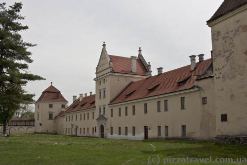 Castle in Zhovkva