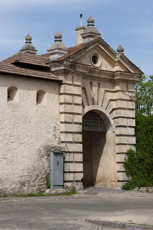 Zvirynets gate
