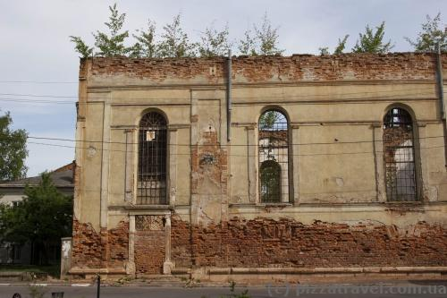 The remains of the synagogue (1817)