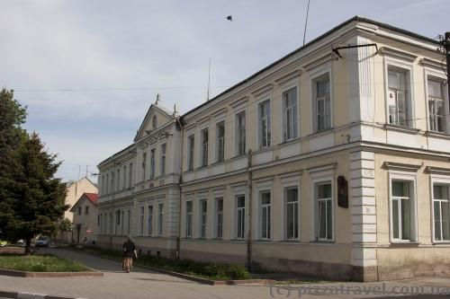 High school where Stepan Bandera used to study