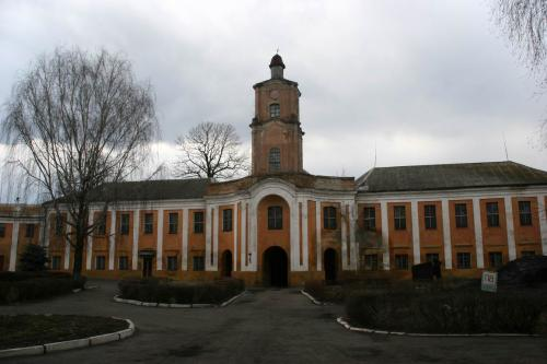 Radziwill Castle, now mental hospital