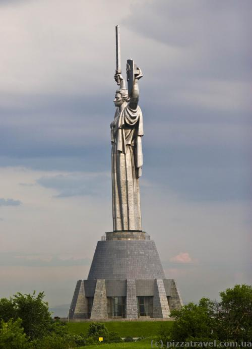 Motherland Statue in Kyiv
