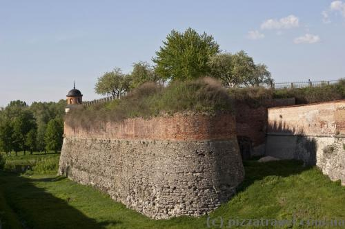 Dubno Castle walls