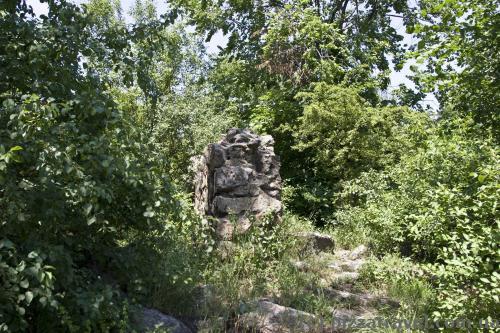 Остатки мельницы запорожских казаков
