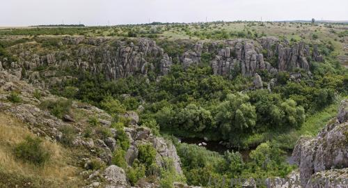 Aktovsky canyon
